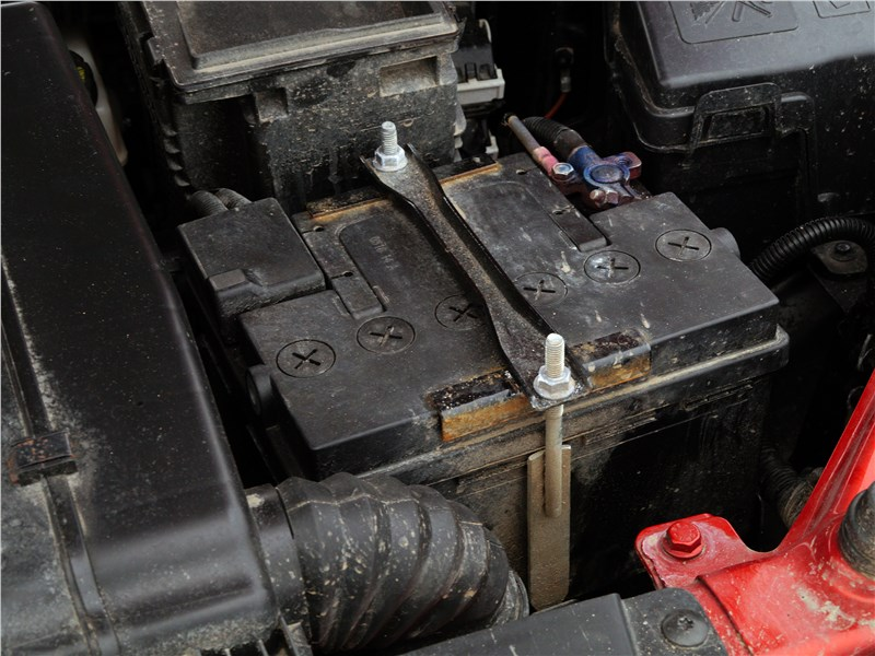 Lada Vesta 2015 аккумулятор