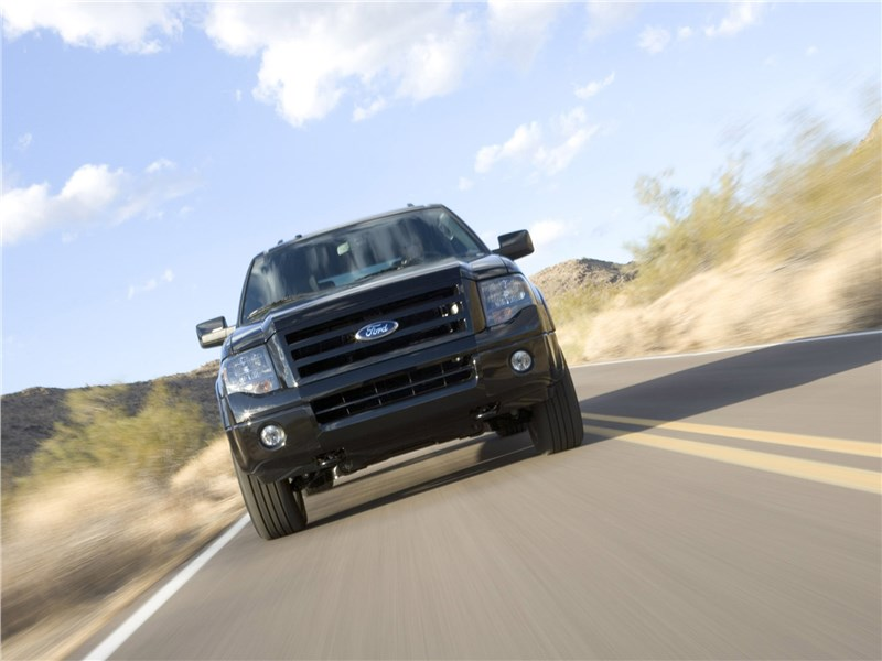 Ford Expedition 2007 вид спереди