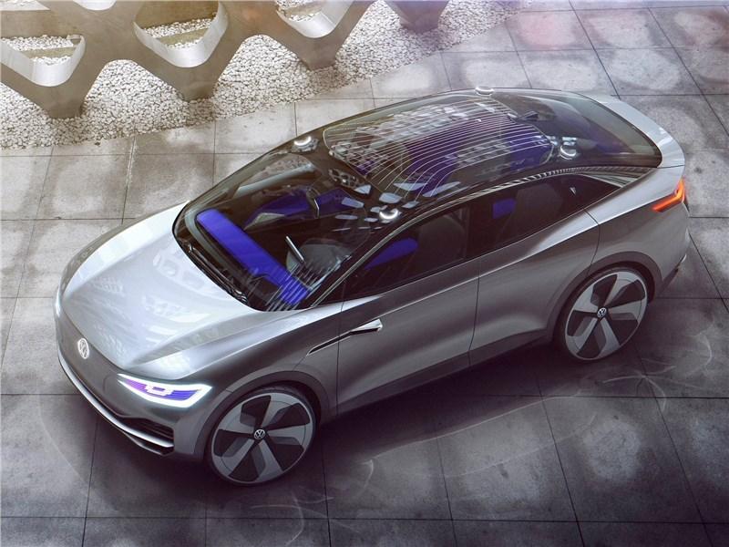 Volkswagen ID Crozz Concept 2017 вид сверху