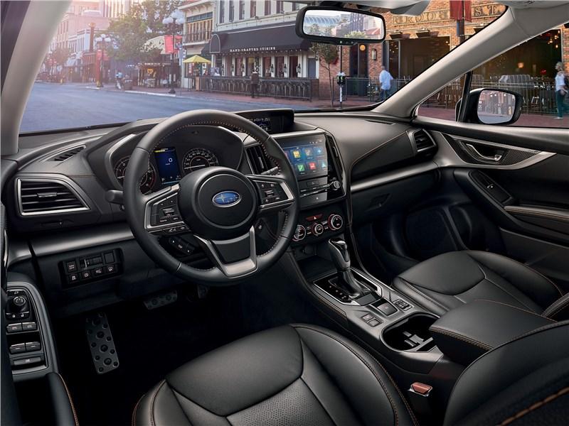 Subaru XV 2018 водительское место