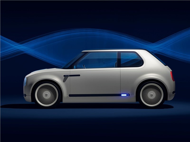 Honda Urban EV Concept 2017 вид сбоку