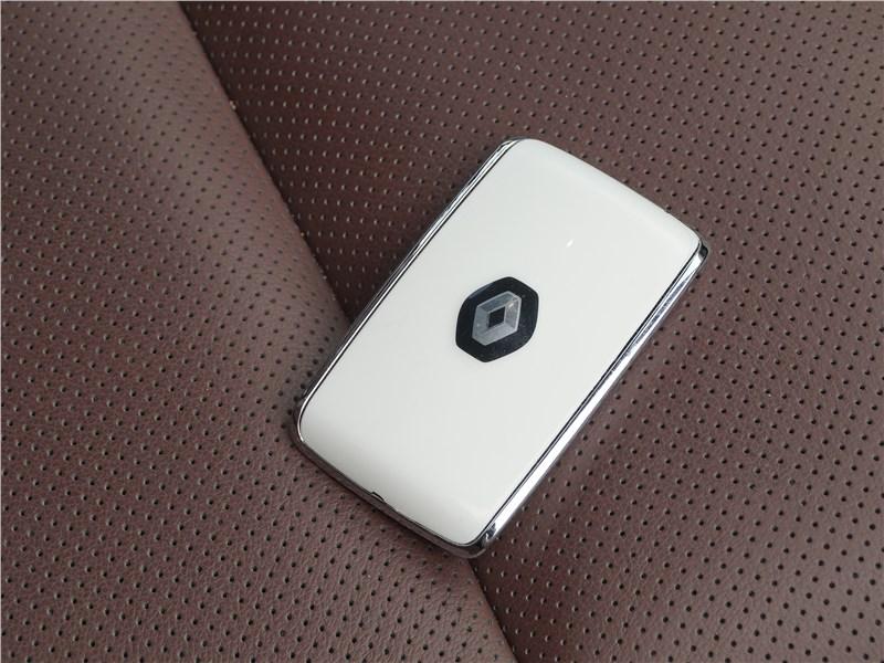 Renault Koleos 2017 чип-брелок