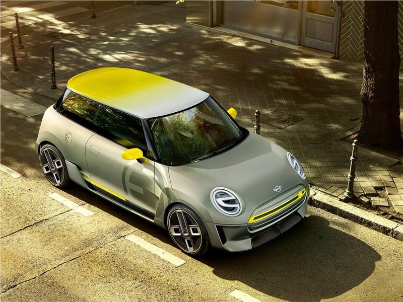 Mini Electric Concept 2017 вид сверху