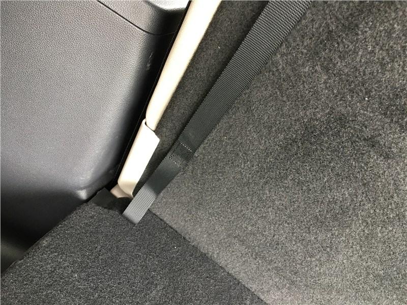 Volkswagen Teramont 2018 третий ряд багажника