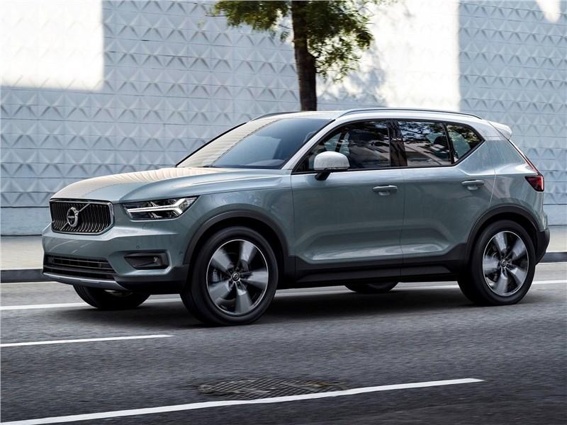 Volvo XC40 2018 вид спереди