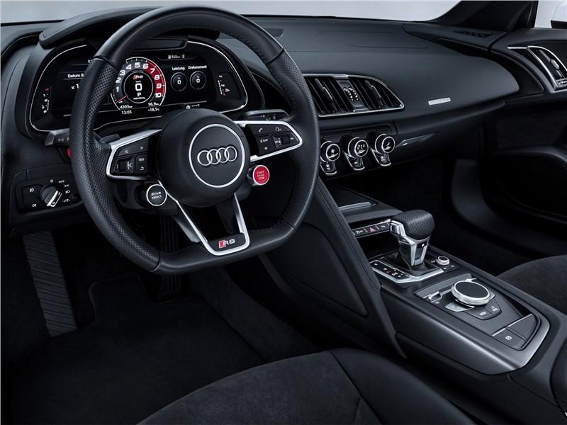 Audi R8 RWS 2018 салон