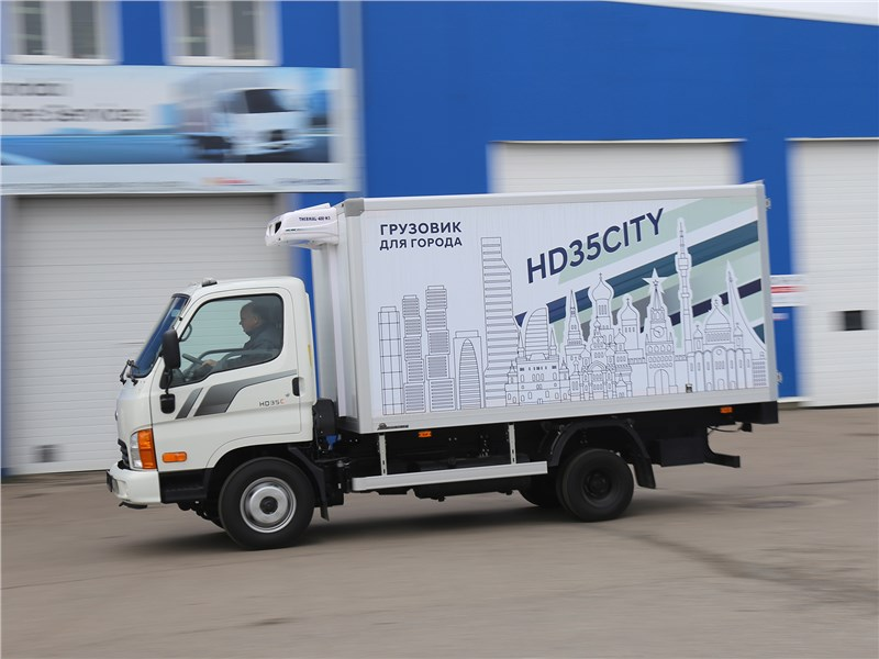 Hyundai HD 35City вид сбоку