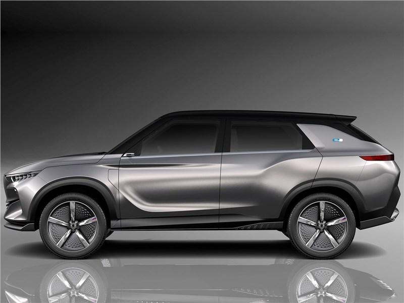 SsangYong e-SIV EV Concept 2018 вид сбоку