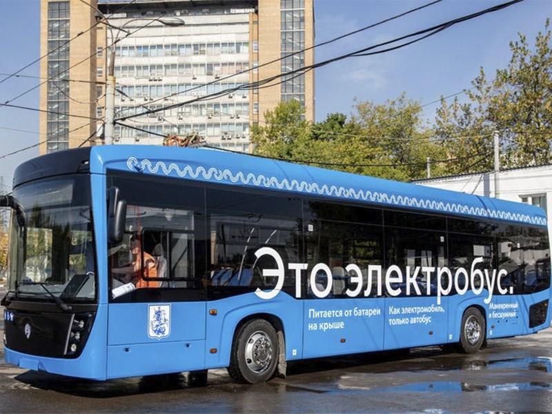 Первый московский электроавтобус пока далеко не уехал Фото Авто Коломна