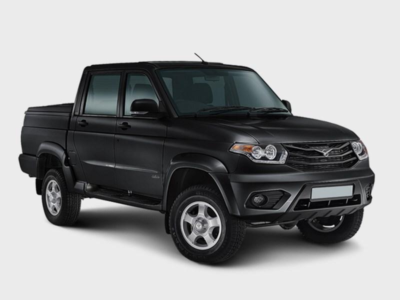 Новый УАЗ «Пикап» уже в продаже Фото Авто Коломна