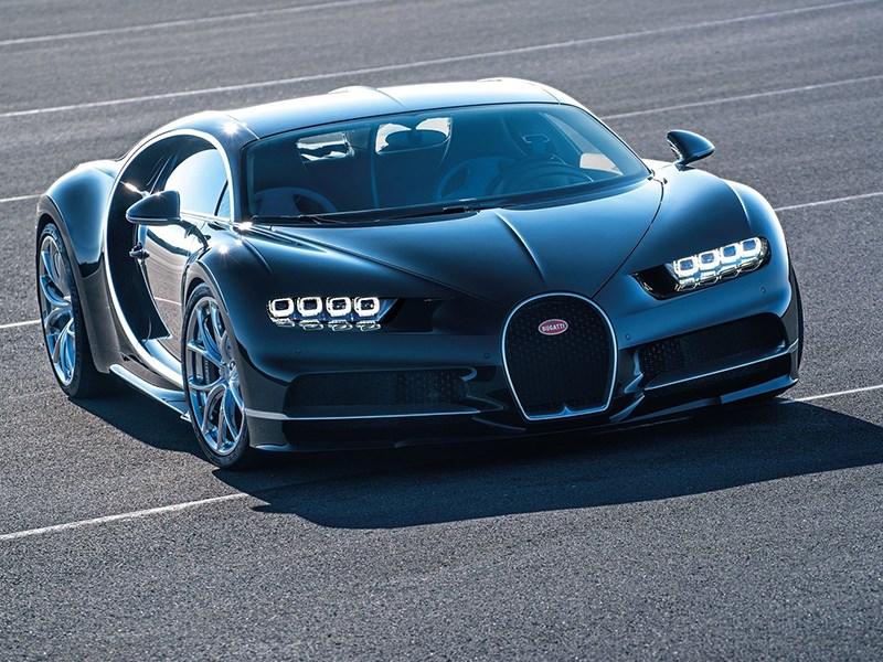 Bugatti Chiron - высшая степень «дьяволизма»