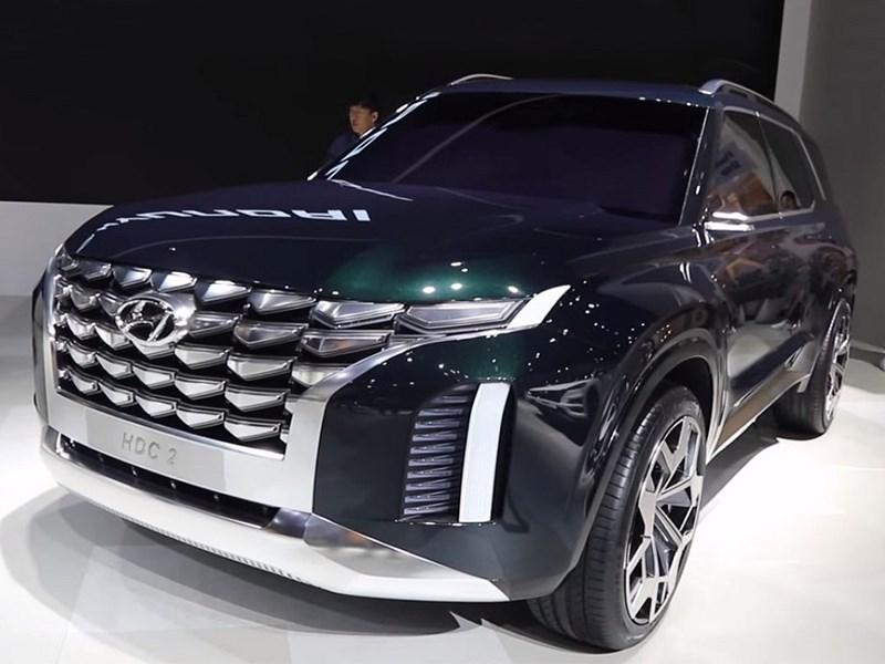 Самый большой кроссовер Hyundai представлен официально