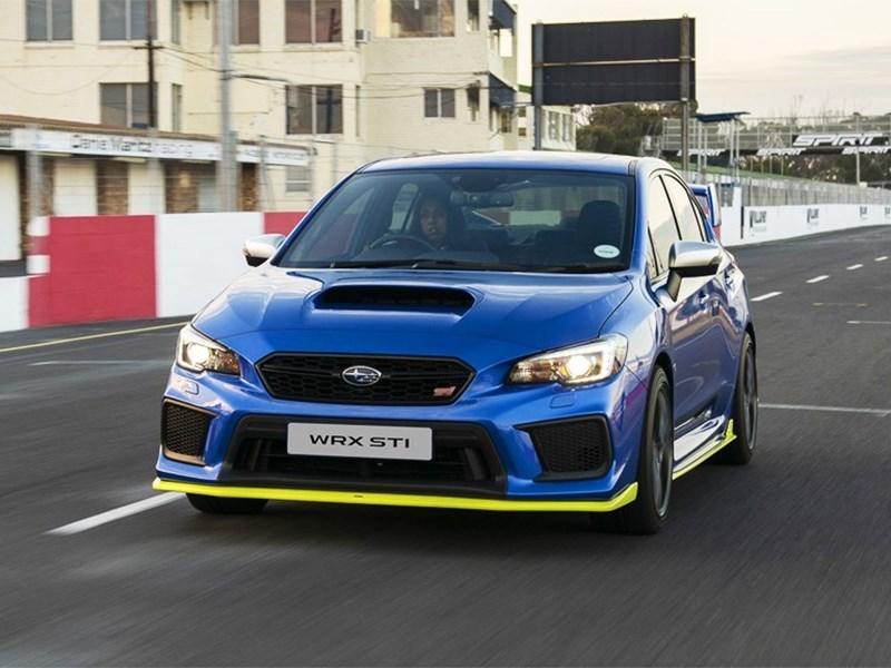 Subaru выпустила самый мощный WRX STI Фото Авто Коломна