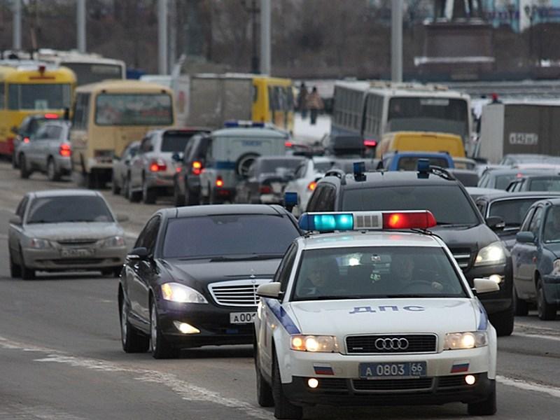 МВД проверит незаконные кортежи чиновников