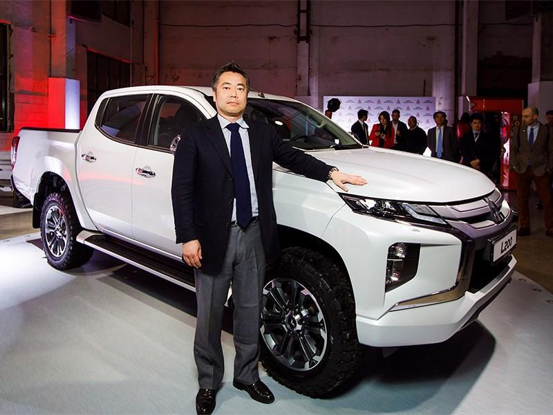 Представлен новый Mitsubishi L200