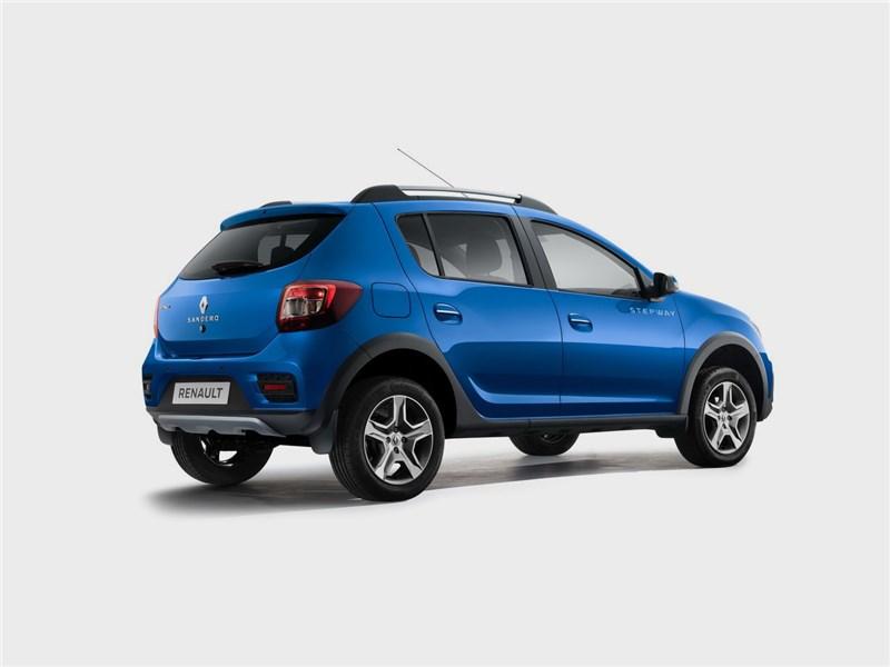 Renault Sandero Stepway 2018 вид сзади