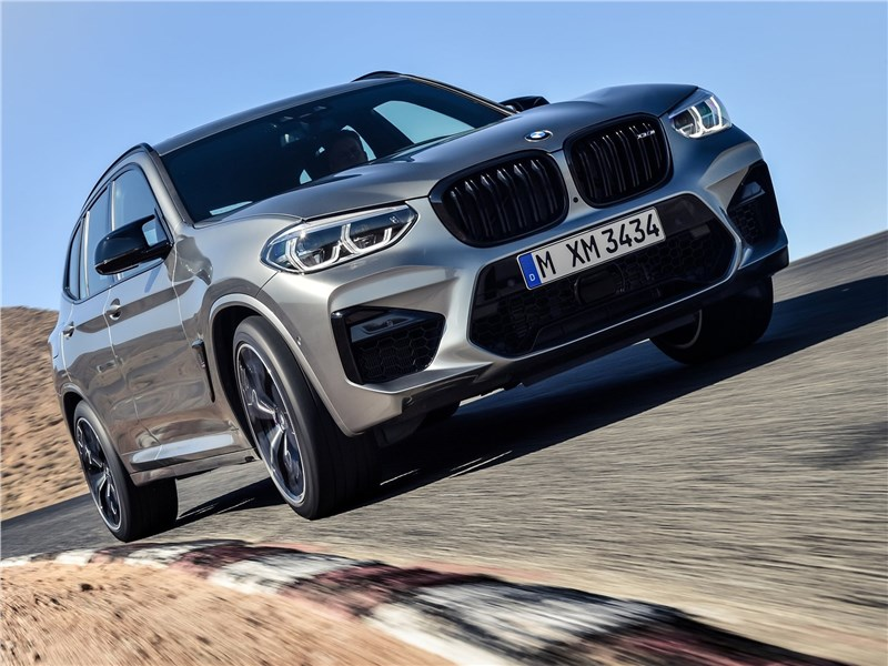 BMW X3 M Competition 2020 вид спереди