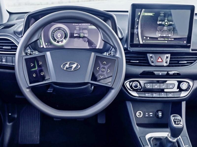 В Hyundai продемонстрировали руль будущего
