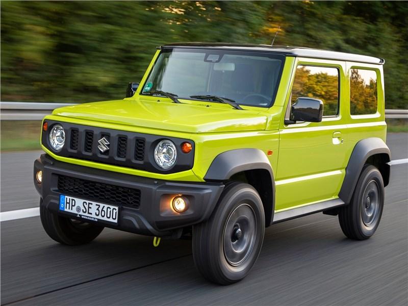 Suzuki Jimny превратят в пятидверный внедорожник