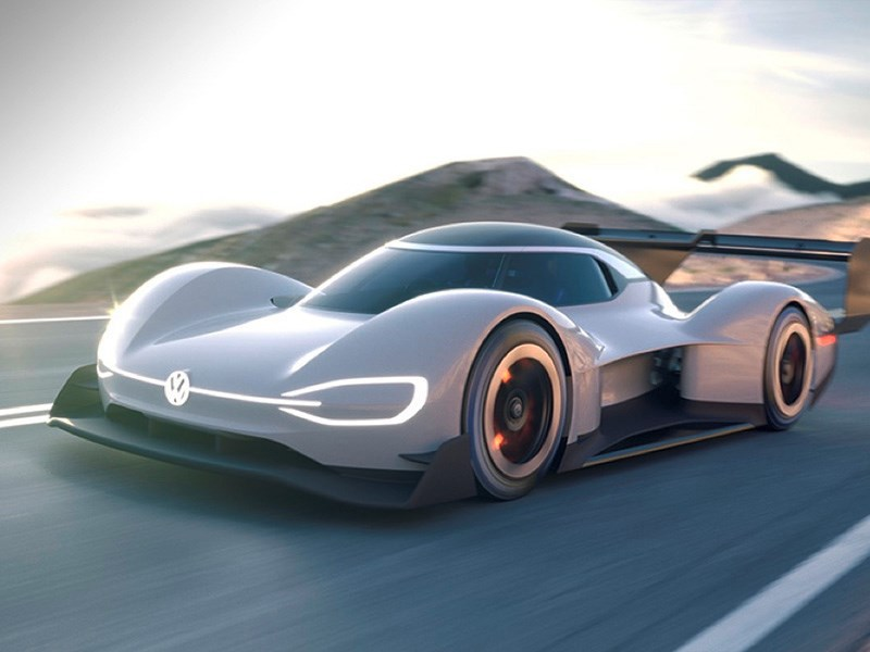 Volkswagen показал автомобиль для рекордов Фото Авто Коломна