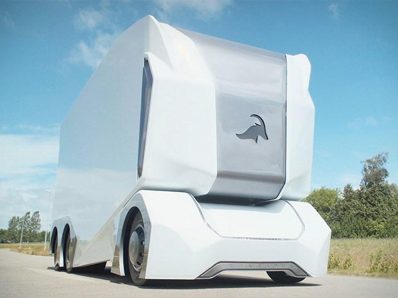 На дороги Швеции выехали беспилотные грузовики Фото Авто Коломна