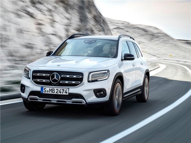 Mercedes-Benz GLB 2020 вид спереди