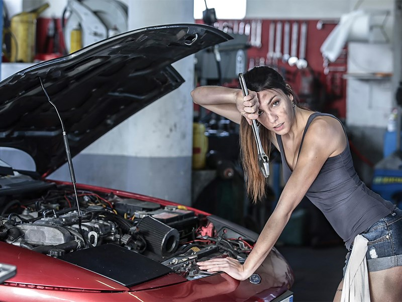 Калифорнийцам запретили чинить собственные машины Фото Авто Коломна