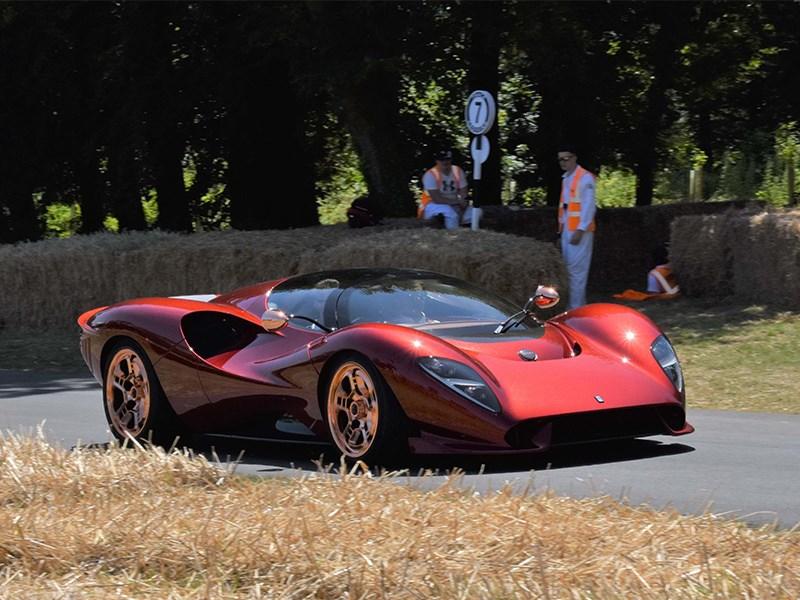 Возрожденную De Tomaso обвинили в копировании дизайна Ferrari и Pagani Фото Авто Коломна