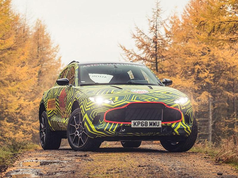 Кроссовер Aston Martin будет круче всех Фото Авто Коломна