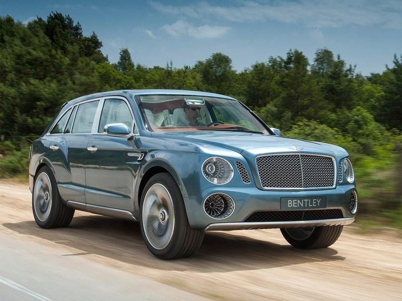 Братья славяне будут производить внедорожник Bentley