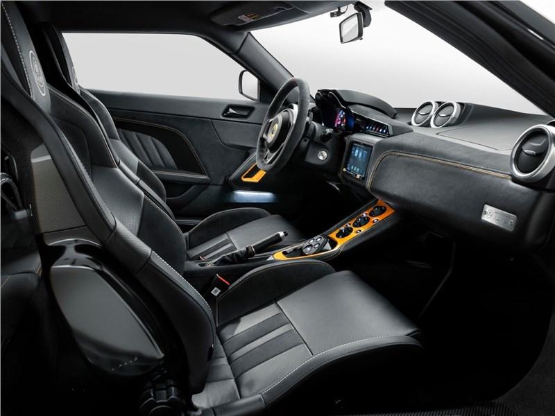 Lotus Evora GT 2020 кресла