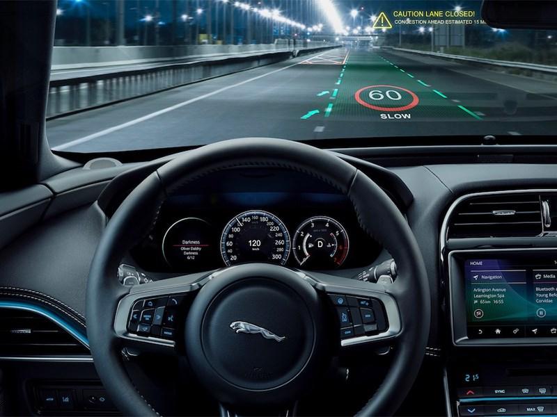В автомобилях Jaguar и Land Rover появится трехмерный экран Фото Авто Коломна