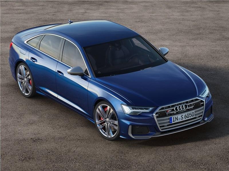 Audi S6 Sedan TDI 2020 вид сверху