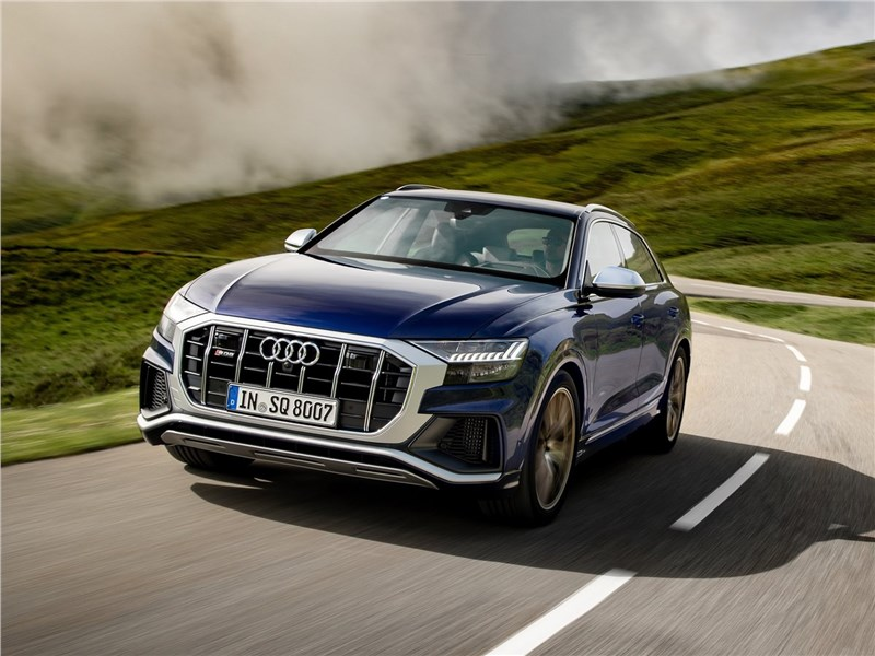 Audi SQ8 TDI 2020 вид спереди