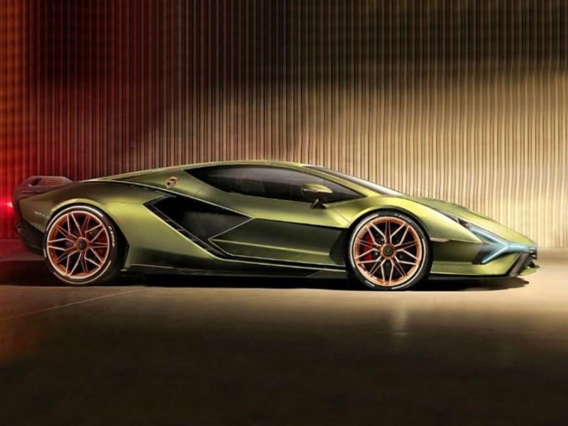 Новый суперкар Lamborghini: первые изображения