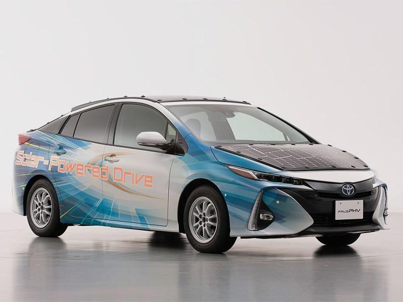 Toyota надеется отказаться от внешней зарядки электрмобилей Фото Авто Коломна