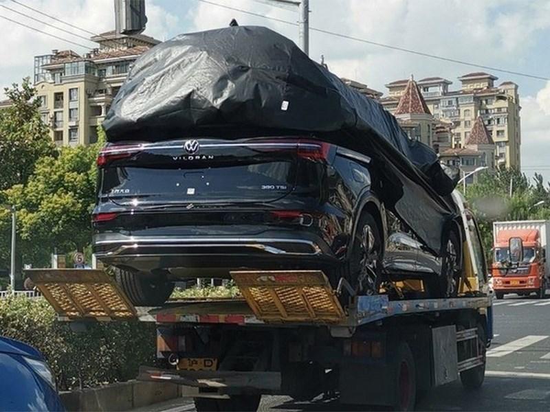 Volkswagen подарит Китаю огромный минивэн Фото Авто Коломна