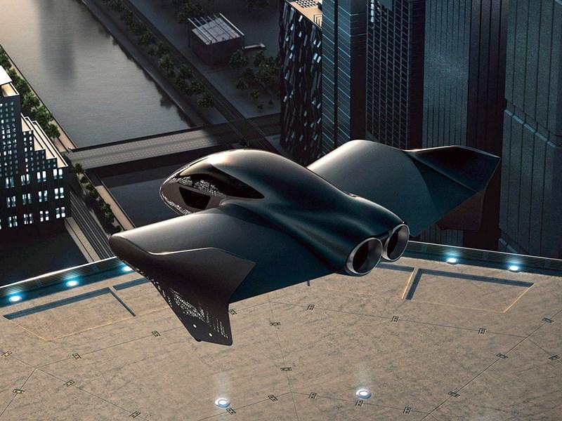 Porsche и Boeing построят летающее такси