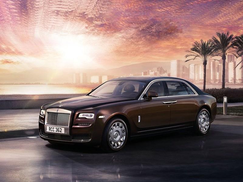 Rolls-Royce прекратил выпуск седана Ghost