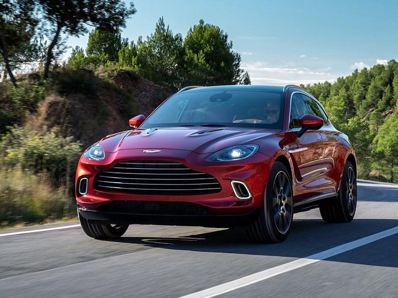 Aston Martin DBX станет мощнее Фото Авто Коломна