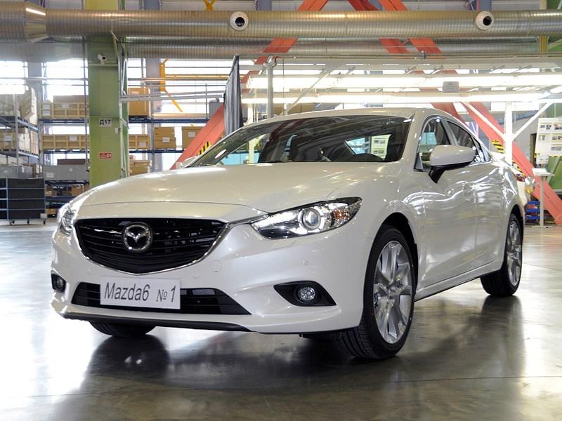 Mazda 6 теперь «родом» из Владивостока