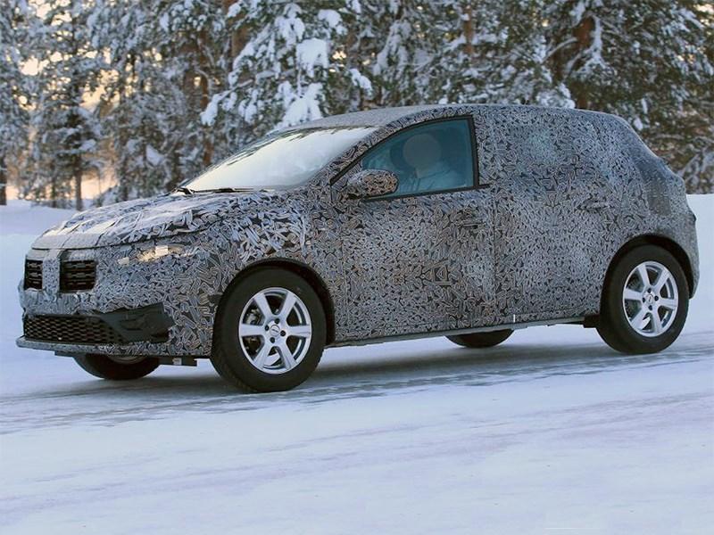 В Renault начали испытывать новый Sandero Фото Авто Коломна