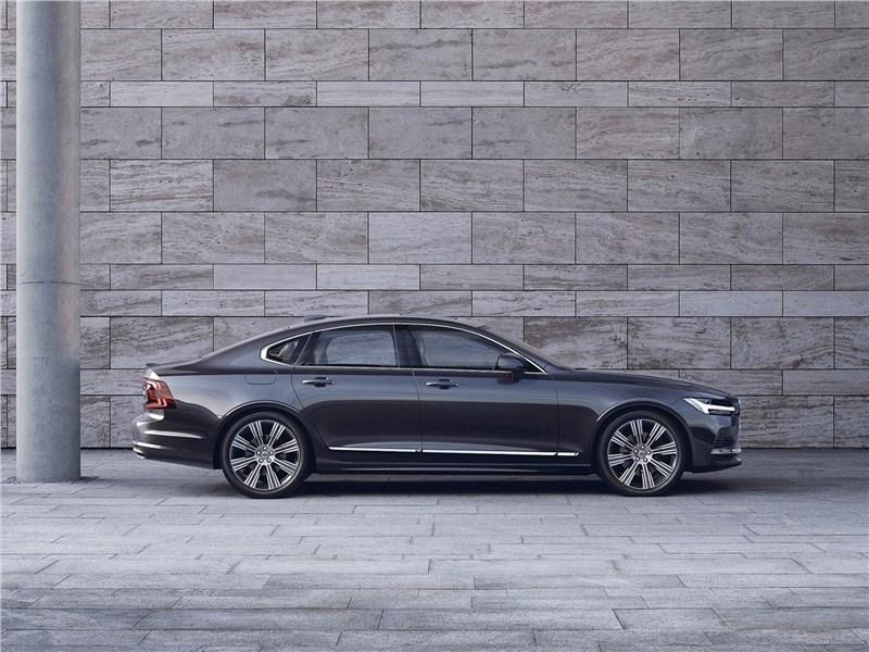 Volvo S90 2020 вид сбоку