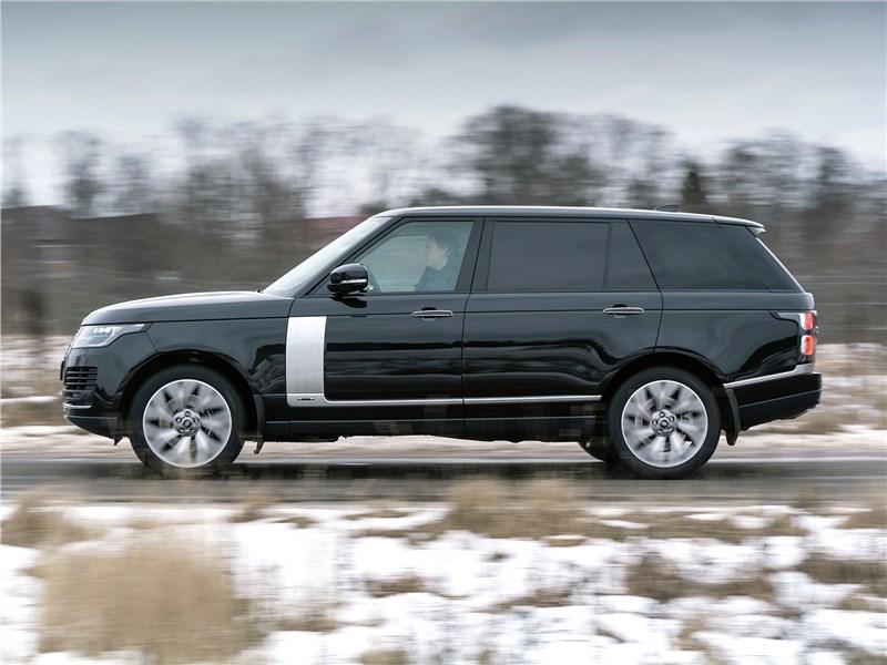 Range Rover LWB 2014 вид сбоку