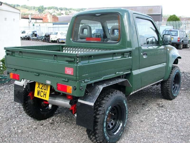 Suzuki Jimny превратился в грузовичок