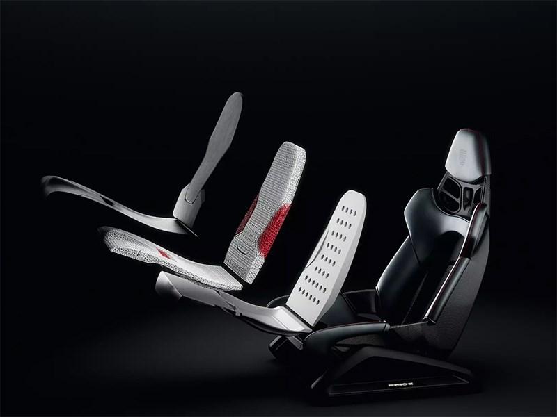 Porsche планирует печатать кресла на 3D-принтере