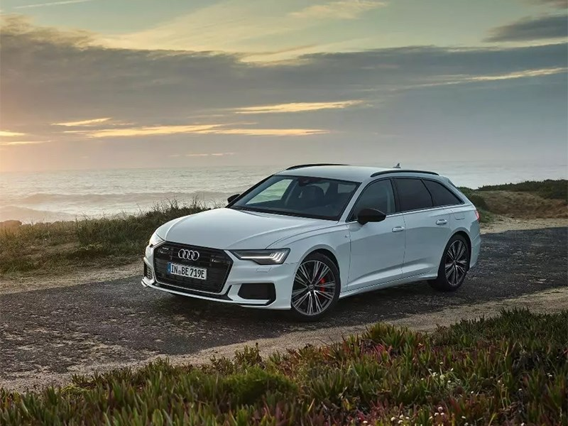 Audi A6 Аvant стал гибридом