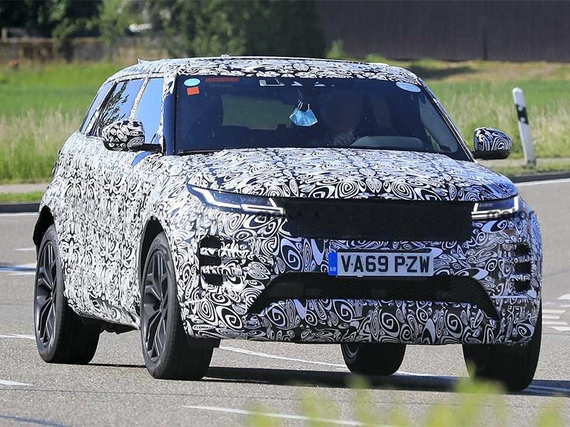 Range Rover Evoque станет семиместным Фото Авто Коломна