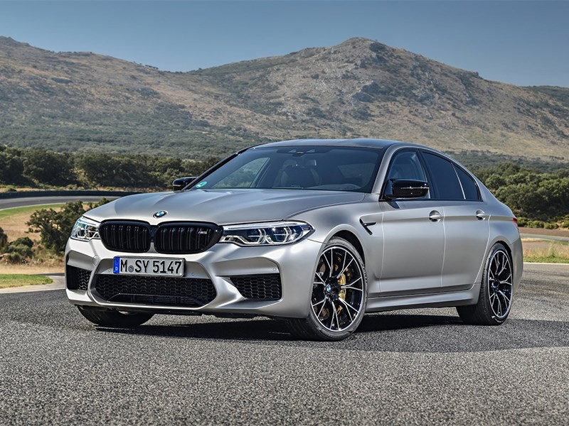 Новый BMW M5 станет 1000 сильным электрокаром Фото Авто Коломна
