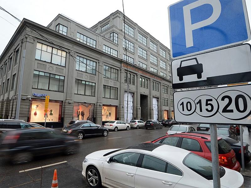 Парковки на всех улицах Москвы станут бесплатными